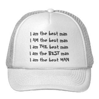 Best man Baseball Cap Trucker Hat
