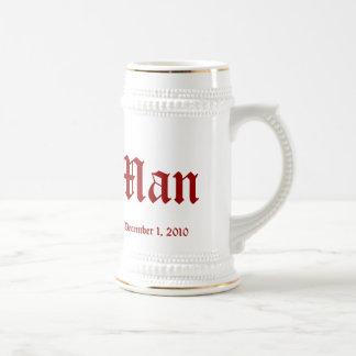 Best Man Beer Stein