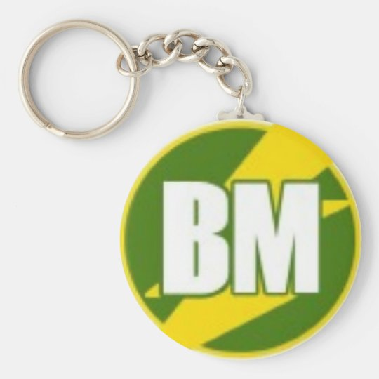 Best Man (BM) -- Keychain