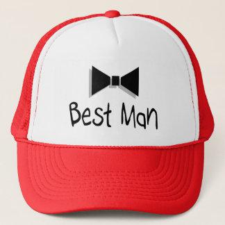 Best Man (Bow Tie 1) Trucker Hat