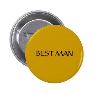 BEST MAN - button