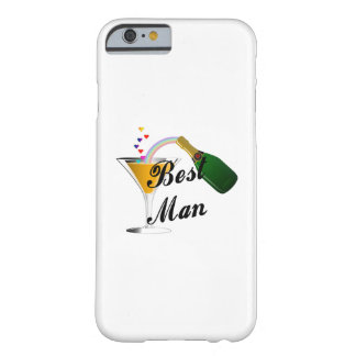 Best Man Champagne Toast Barely There iPhone 6 Case