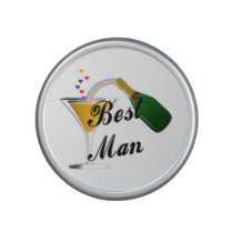 Best Man Champagne Toast Bluetooth Speaker