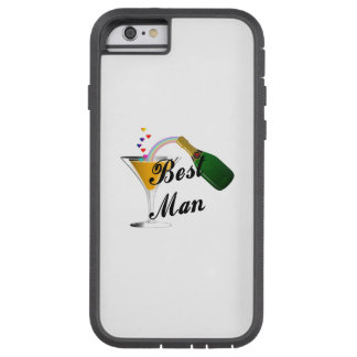 Best Man Champagne Toast Tough Xtreme iPhone 6 Case