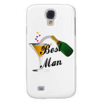 Best Man Champagne Toast Galaxy S4 Cover