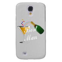Best Man Champagne Toast Samsung Galaxy S4 Case