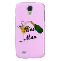 Best Man Champagne Toast Samsung S4 Case