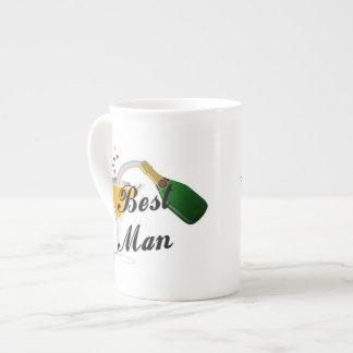 Best Man Champagne Toast Tea Cup