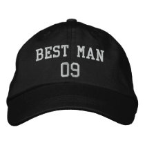 Best Man: Customizable Wedding Party Hat