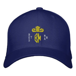 Best Man Embroidered Baseball Cap