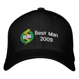 Best Man Embroidered Hat, Customizable