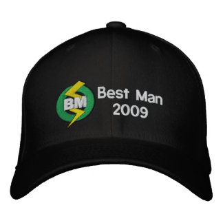 Best Man Embroidered Hat, Customizable Embroidered Baseball Hat