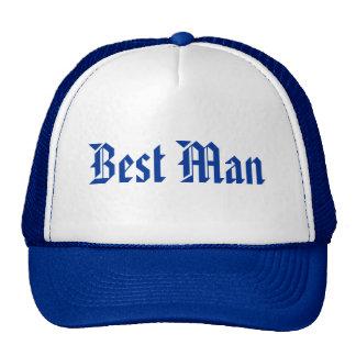 Best Man Trucker Hats