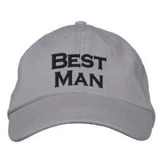 Best Man Hat Embroidered Baseball Caps