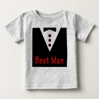 Best Man In Tux Baby T-Shirt