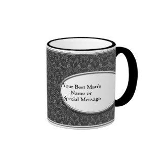 Best Man Mug, Personalized Ringer Mug