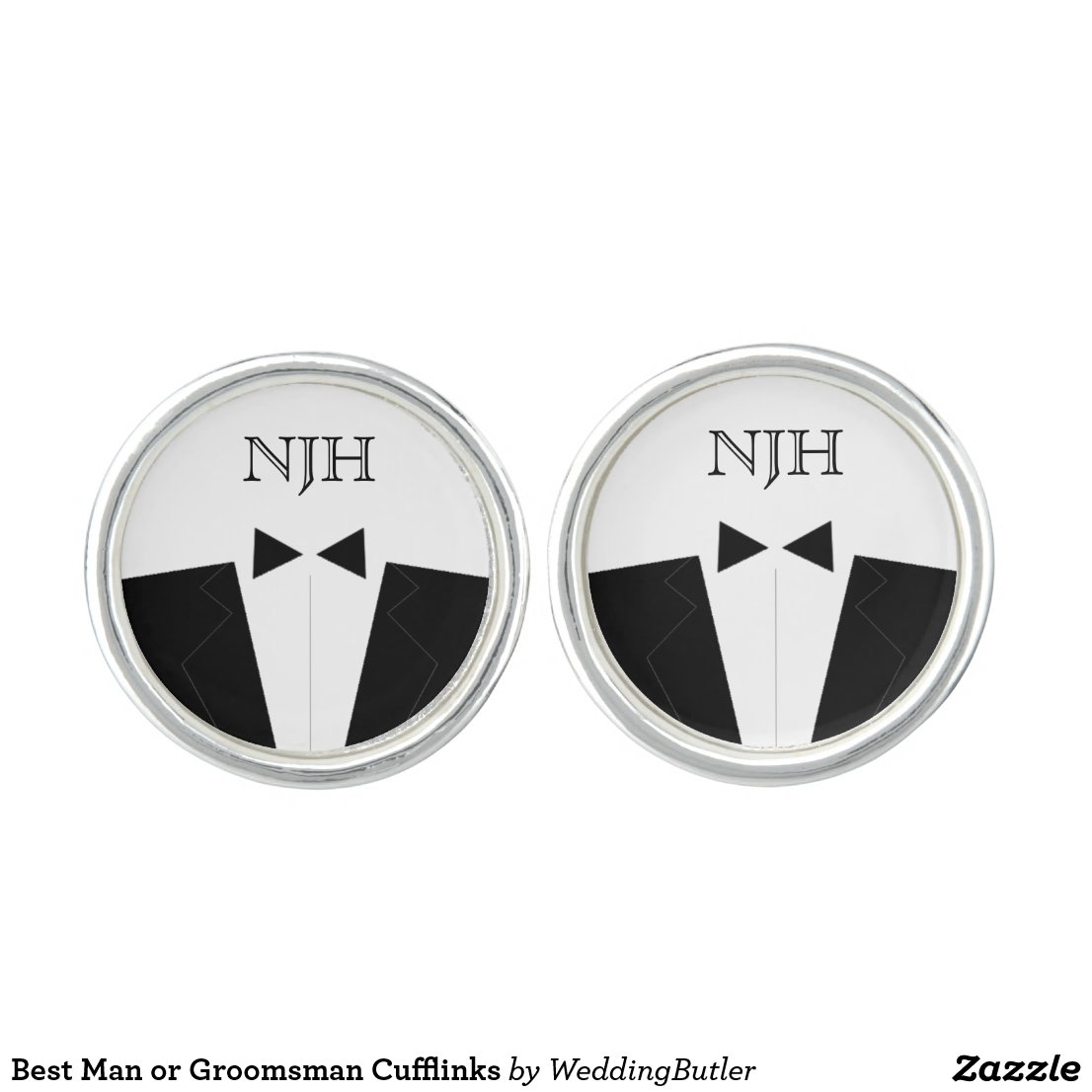 Best Man or Groomsman Cufflinks