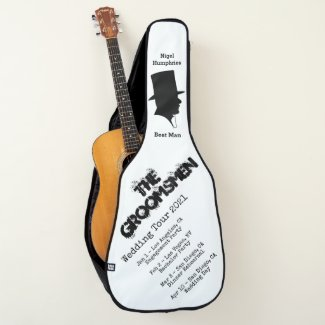 Best Man or Groomsman Guitar Case Invite