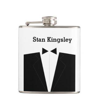 Best Man or Groomsman Invitation Flask