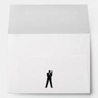 Best Man or Groomsman Invite Envelope