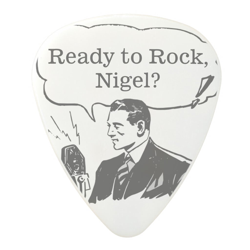 Best Man or Groomsman Invite Guitar Pick