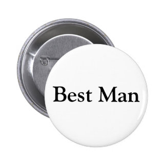 Best Man Pinback Button