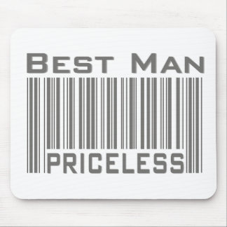 Best Man Priceless Mouse Pad