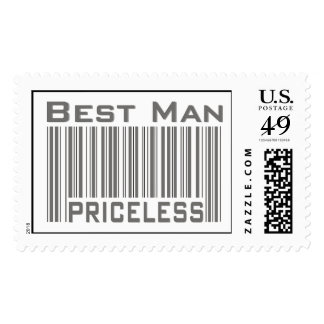 Best Man Priceless Stamps