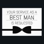"""Best Man Request 