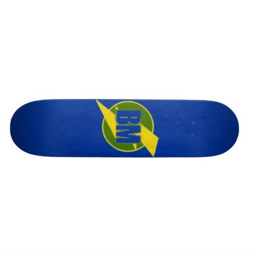 Best Man Skateboard (BM) -- Blue