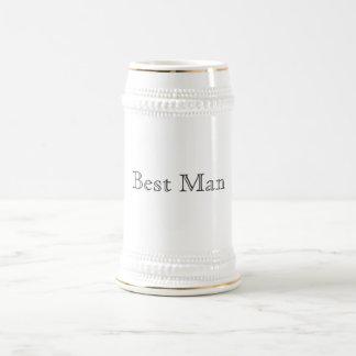 Best Man Stein 18 Oz Beer Stein