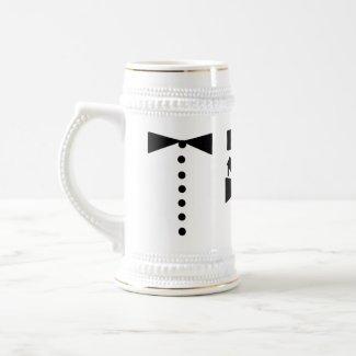 Best Man Stein mug