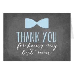 Best Man Thank You | Groomsman Card