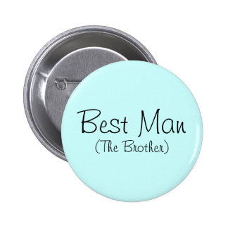 Best Man (The Brother) Pin