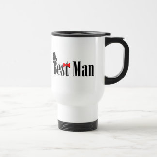 Best Man Top Hat Travel Mug