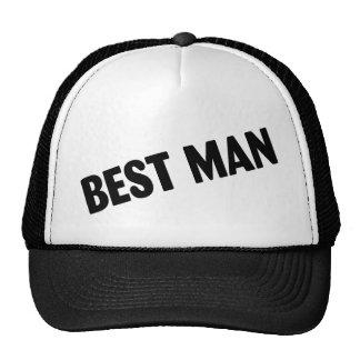 Best Man Wedding Black Hats