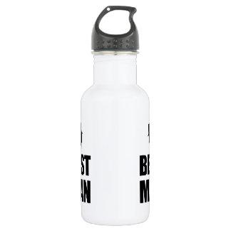 Best Man Wedding Stainless Steel Water Bottle