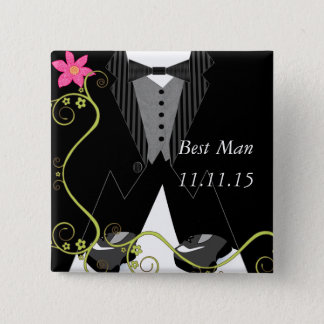 Best ManTuxedo Bow Tie Tennis Shoe Wedding Badges Button