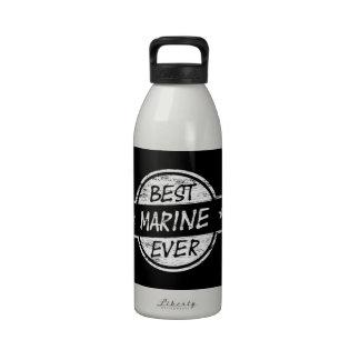 Best Marine Ever White Reusable Water Bottle