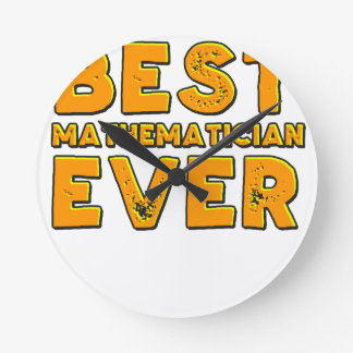 Best mathematician ever round clock