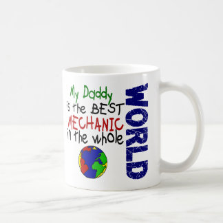 Best Mechanic In World 2 (Daddy) Classic White Coffee Mug
