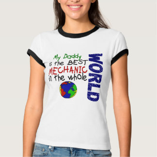 Best Mechanic In World 2 (Daddy) T-Shirt