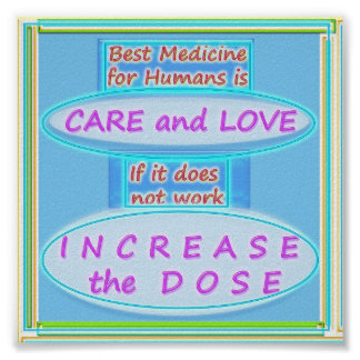 Best Medicine : Care and Love Poster