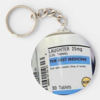 Best Medicine Basic Round Button Keychain
