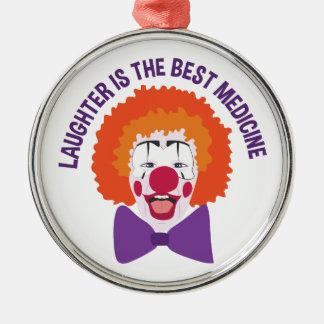Best Medicine Metal Ornament