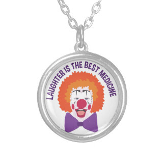 Best Medicine Silver Plated Necklace