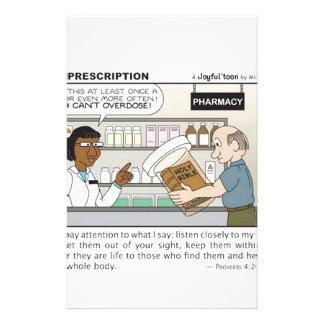 Best Medicine Personalized Stationery