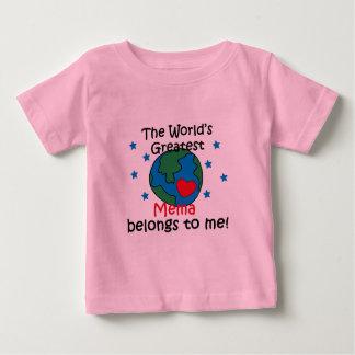 Best Mema Belongs to me T-shirt