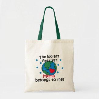 Best Mema Belongs to me Tote Bag