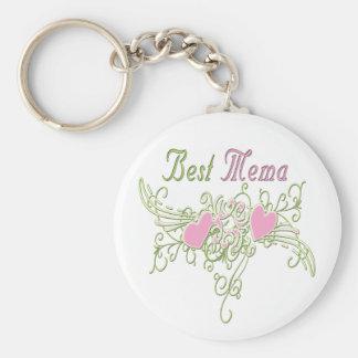 Best MeMa Swirling Hearts Keychain